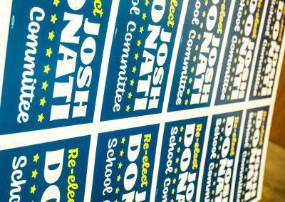 Union Election Printing (Yard Signs, diff angle prior)