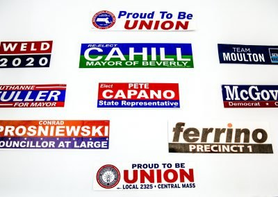 Union Election Printing (Bumper Stickers)