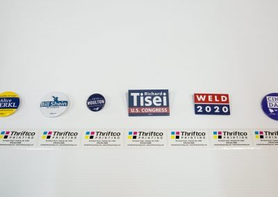 Union Election Printing (Lapel Buttons)