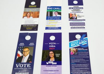 Union Election Printing (Door Hangers)